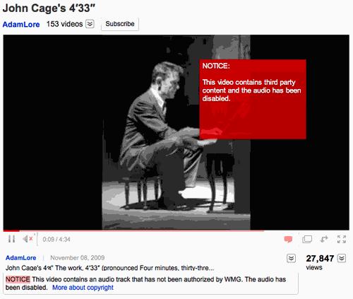 Cage John Youtube Takedown