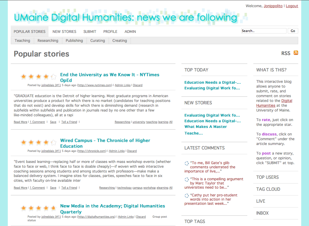 Digital Humanities News Blog