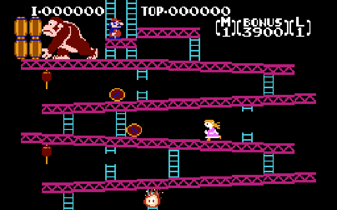 Donkey Kong for Daughter